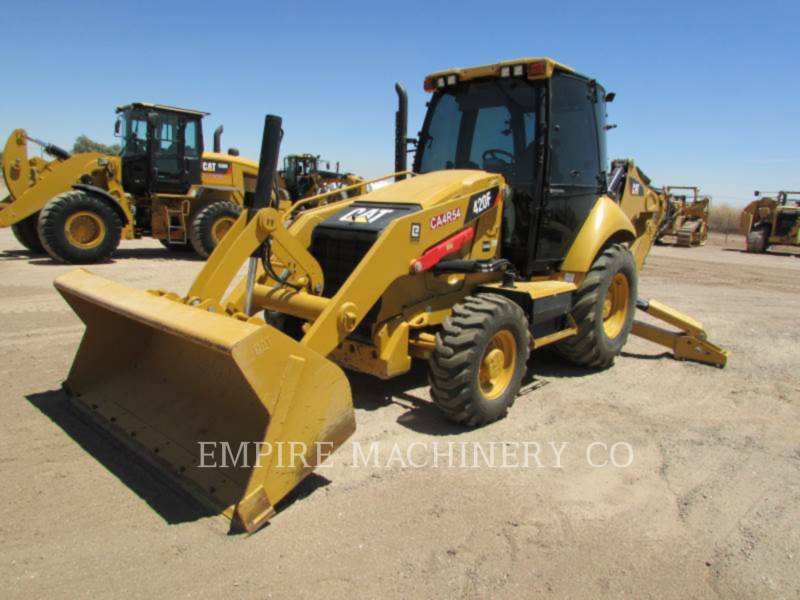 CATERPILLAR BACKHOE LOADERS 420F 4EC equipment  photo 4