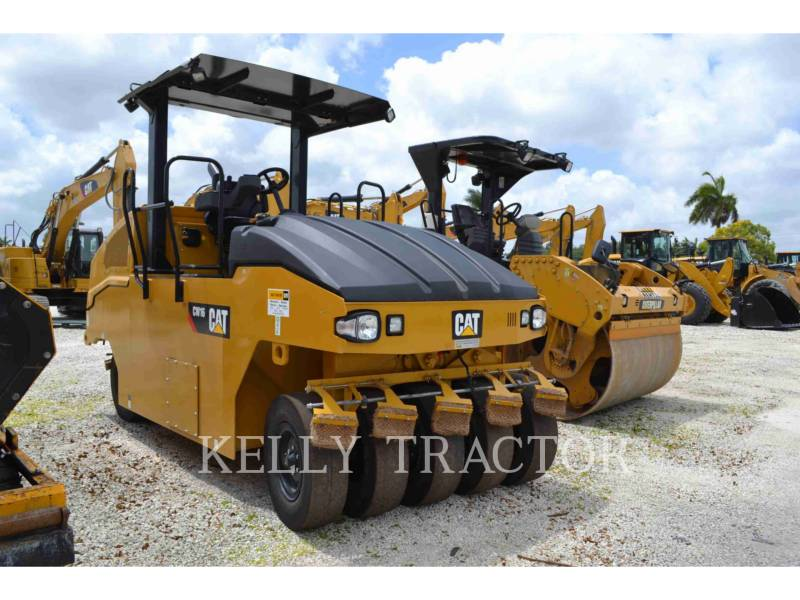 CATERPILLAR GUMMIRADWALZEN CW16 equipment  photo 1