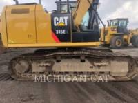 CATERPILLAR TRACK EXCAVATORS 316EL Q28 equipment  photo 6