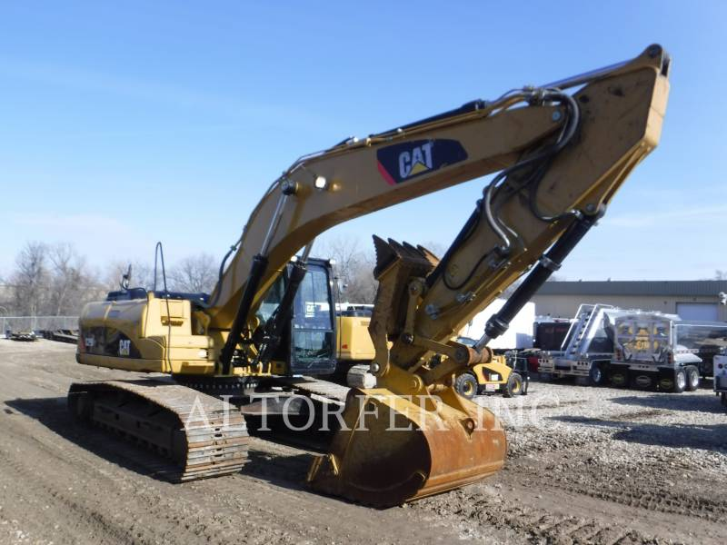 CATERPILLAR PELLES SUR CHAINES 329DL TH equipment  photo 2