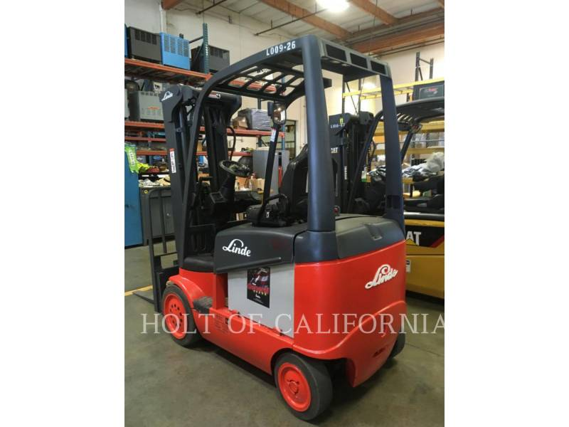 LINDE FORKLIFTS E20C/600 equipment  photo 4