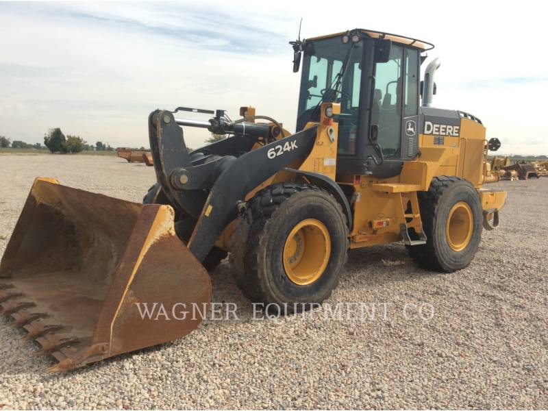 DEERE & CO. RADLADER/INDUSTRIE-RADLADER 624K equipment  photo 1