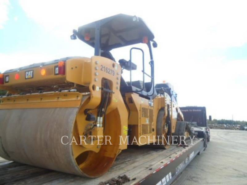 CATERPILLAR TANDEMVIBRATIONSWALZE, ASPHALT CB46B equipment  photo 3