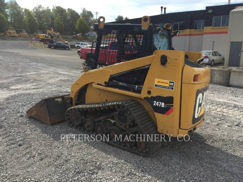 CATERPILLAR SKID STEER LOADERS 247B3 equipment  photo 4