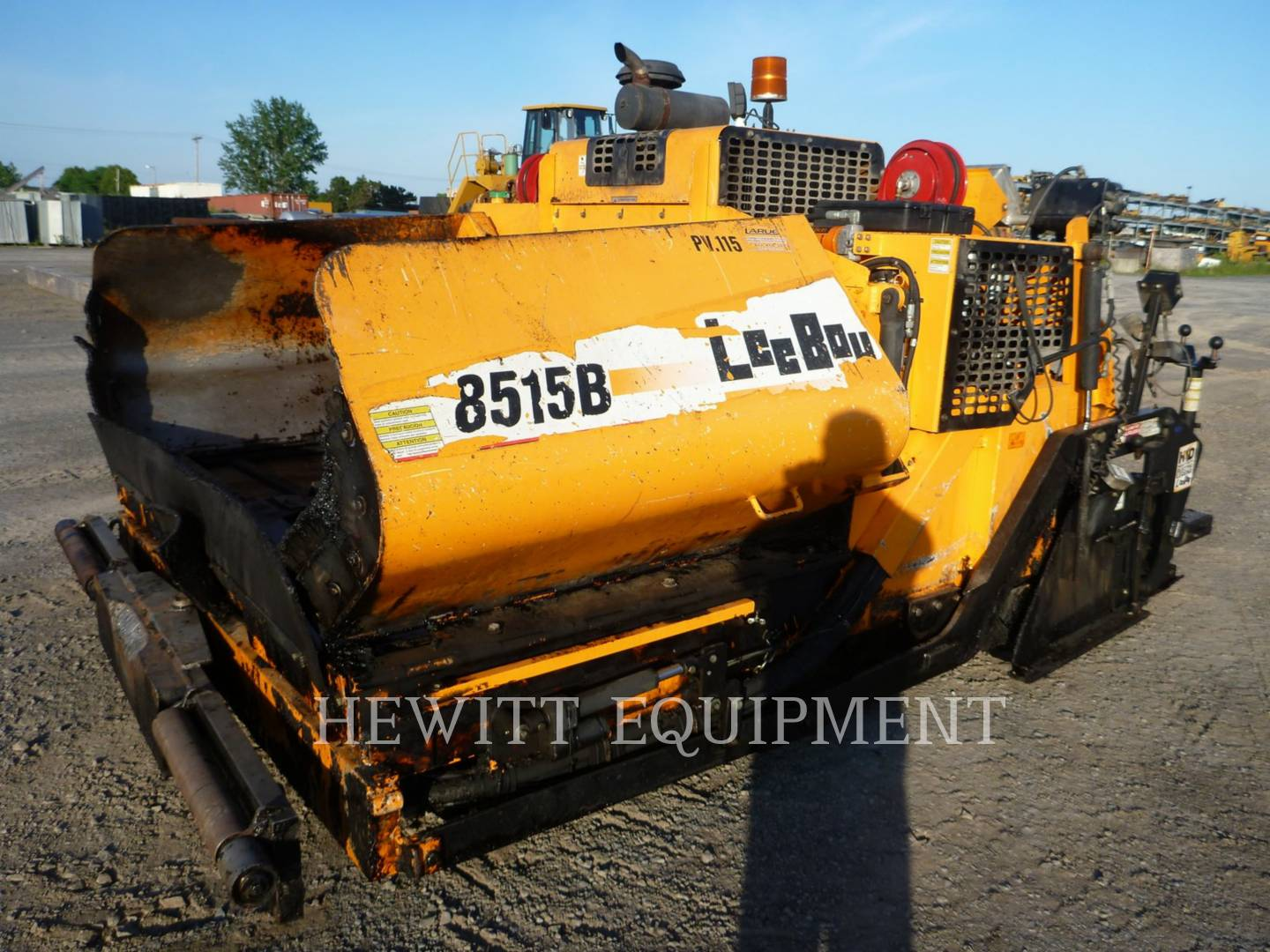 Detail photo of 2012 LeeBoy 8515B from Construction Equipment Guide