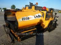 Equipment photo LEE-BOY 8515B ASPHALT PAVERS 1