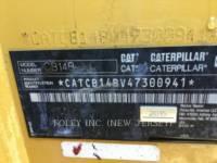 CATERPILLAR COMPACTEURS CB14BXW equipment  photo 15