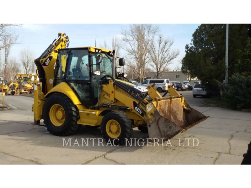 CATERPILLAR CHARGEUSES-PELLETEUSES 432 E equipment  photo 1