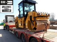 Equipment photo CATERPILLAR CB7 VIBRATORY DOUBLE DRUM ASPHALT 1