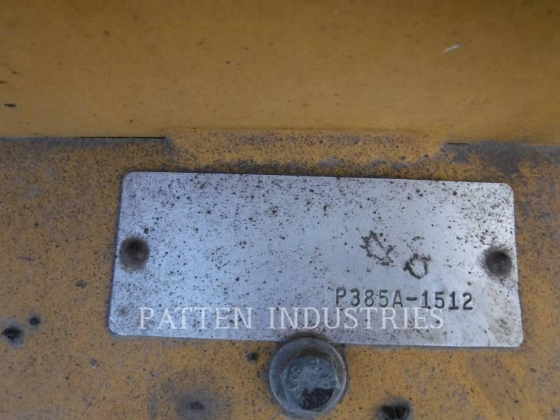 WEILER ASPHALT PAVERS P385A equipment  photo 5