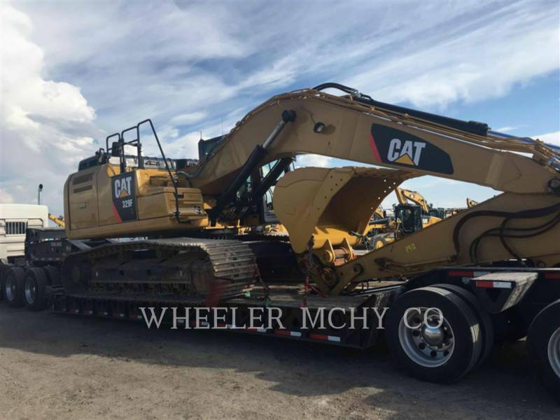 CATERPILLAR TRACK EXCAVATORS 329F L CFM equipment  photo 6