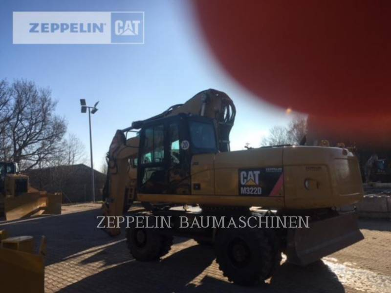 CATERPILLAR PELLES SUR PNEUS M322D equipment  photo 3