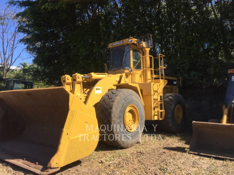 CATERPILLAR CHARGEURS SUR PNEUS/CHARGEURS INDUSTRIELS 980 F SERIES II equipment  photo 1