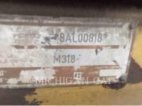 CATERPILLAR WHEEL EXCAVATORS M318 equipment  photo 24