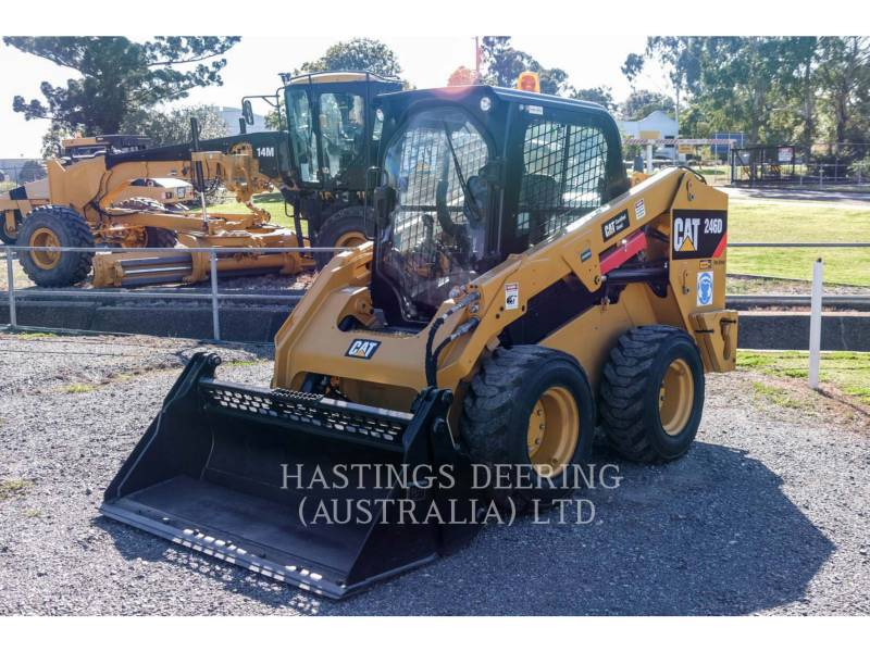 CATERPILLAR SKID STEER LOADERS 246DLRC equipment  photo 3