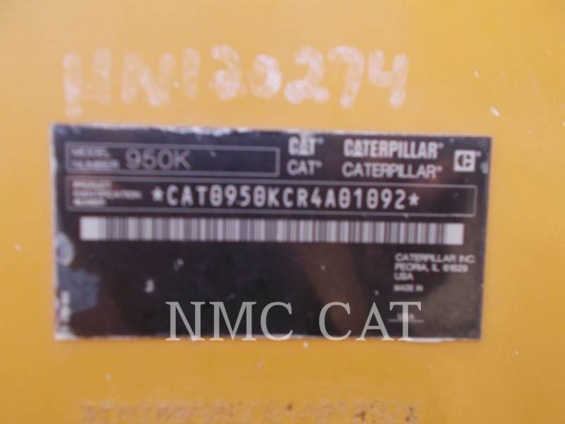 CATERPILLAR CARGADORES DE RUEDAS 950K equipment  photo 1