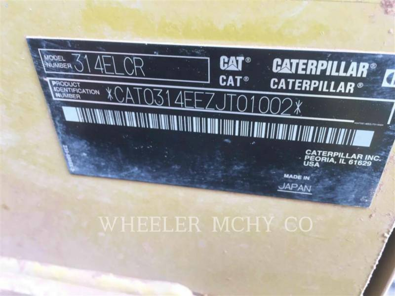 CATERPILLAR EXCAVADORAS DE CADENAS 314E L CF equipment  photo 6