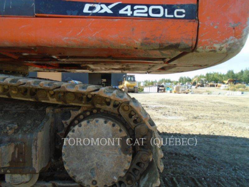 DOOSAN INFRACORE AMERICA CORP. KETTEN-HYDRAULIKBAGGER DX420 equipment  photo 8