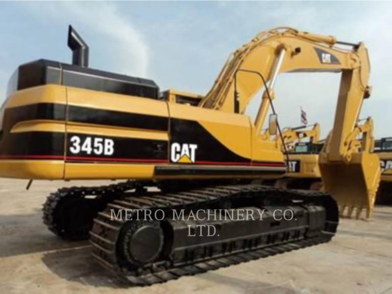 CATERPILLAR EXCAVADORAS DE CADENAS 345B equipment  photo 5