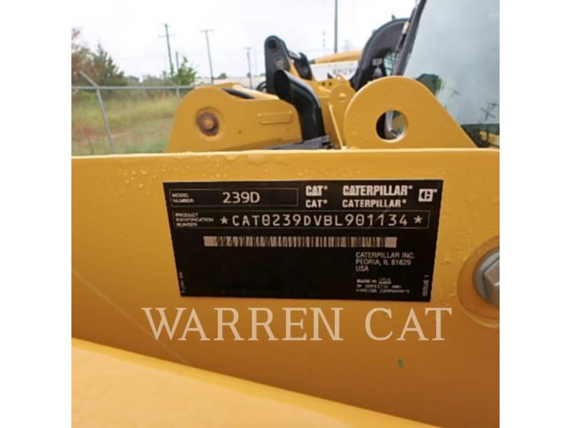 CATERPILLAR CARREGADEIRAS TODO TERRENO 239D equipment  photo 10