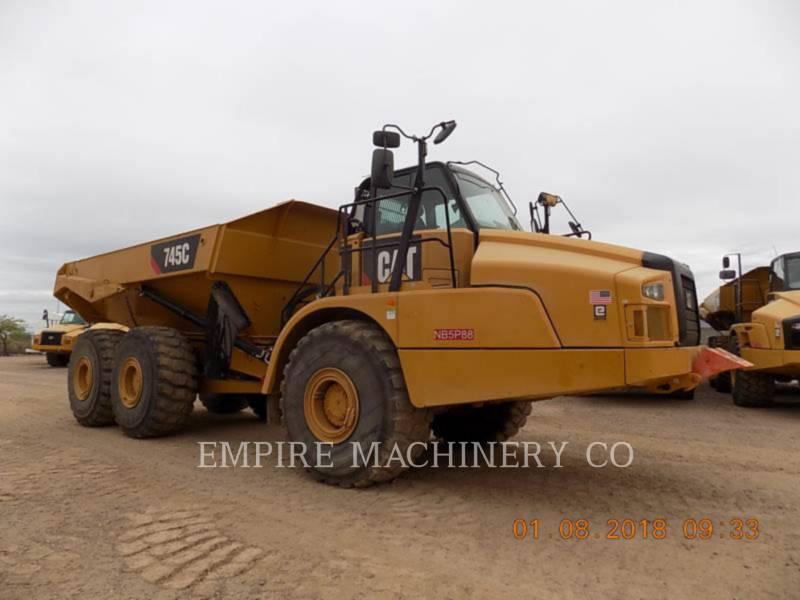 CATERPILLAR MULDENKIPPER 745C equipment  photo 1