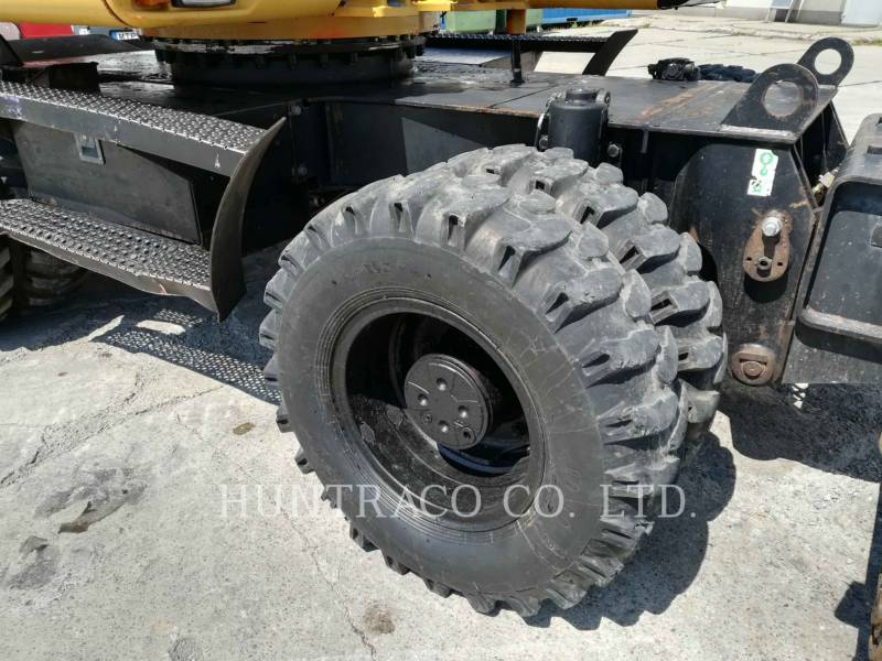 CATERPILLAR WHEEL EXCAVATORS M316C equipment  photo 15