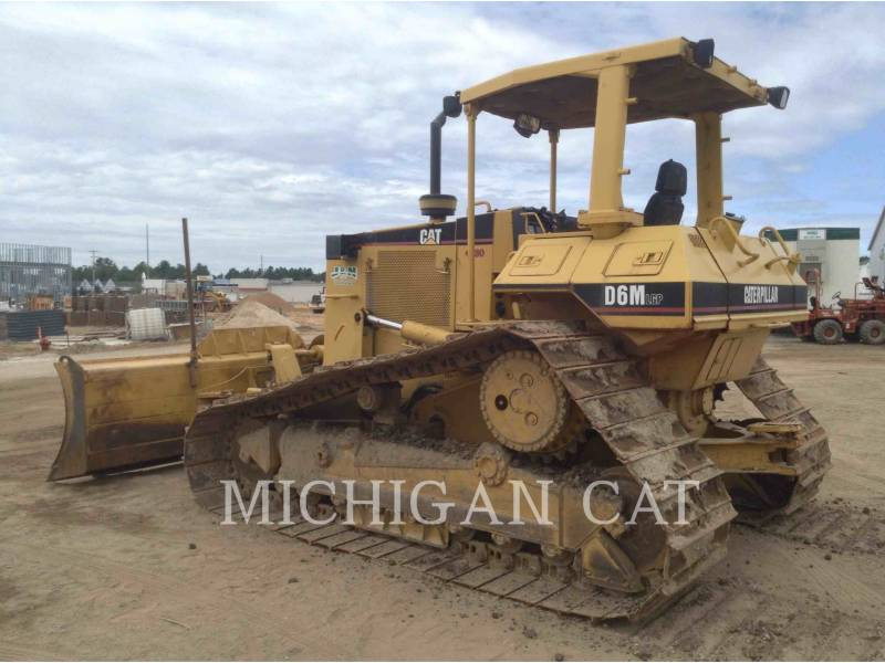 CATERPILLAR TRACK TYPE TRACTORS D6M equipment  photo 3