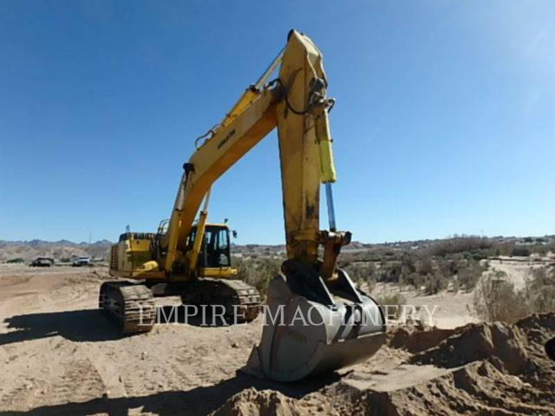 KOMATSU LTD. KETTEN-HYDRAULIKBAGGER PC600LC equipment  photo 2