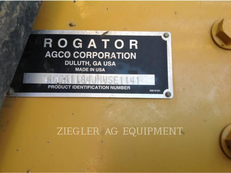 AG-CHEM ROZPYLACZ 1184 equipment  photo 11