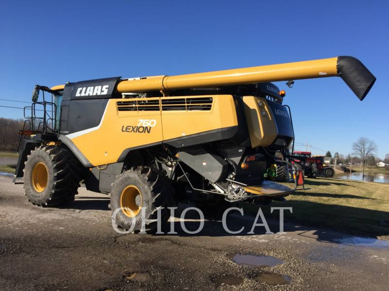CLAAS OF AMERICA COMBINÉS LEX760 equipment  photo 3