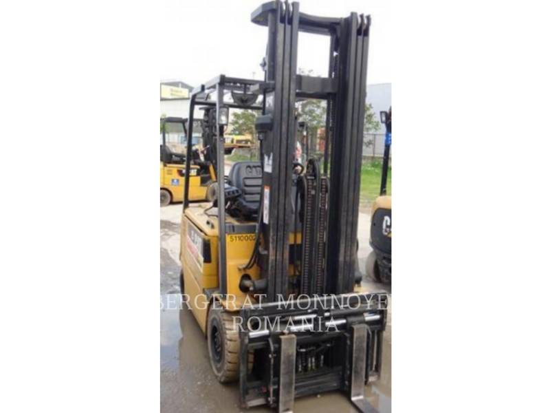 MITSUBISHI CATERPILLAR FORKLIFT FORKLIFTS EP25KPAC equipment  photo 2