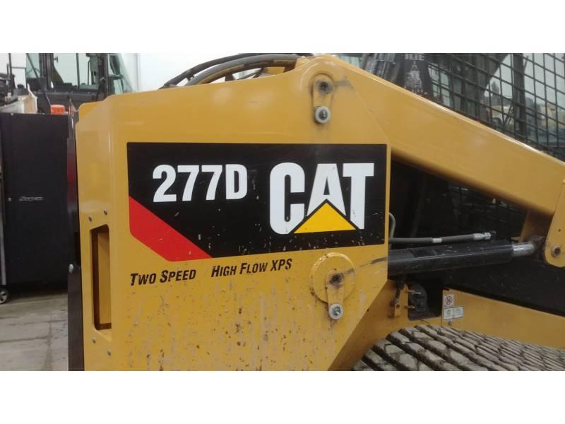 CATERPILLAR CARGADORES MULTITERRENO 277D equipment  photo 7