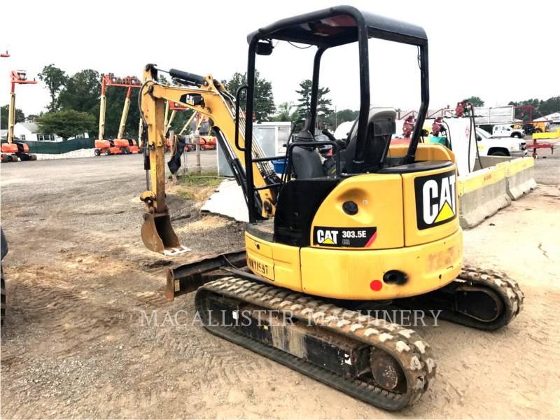 CATERPILLAR EXCAVADORAS DE CADENAS 303.5ECR equipment  photo 3