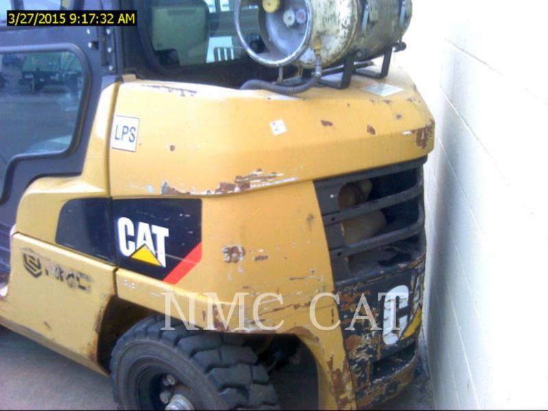 CATERPILLAR LIFT TRUCKS PODNOŚNIKI WIDŁOWE P8000_MC equipment  photo 3