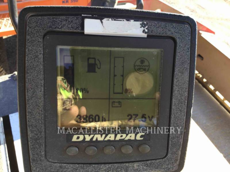 DYNAPAC VIBRATORY DOUBLE DRUM ASPHALT CC234HF equipment  photo 16
