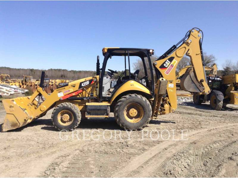 CATERPILLAR BAGGERLADER 420FST equipment  photo 8