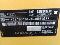 CATERPILLAR PELLES SUR CHAINES 318 D 2 L equipment  photo 5