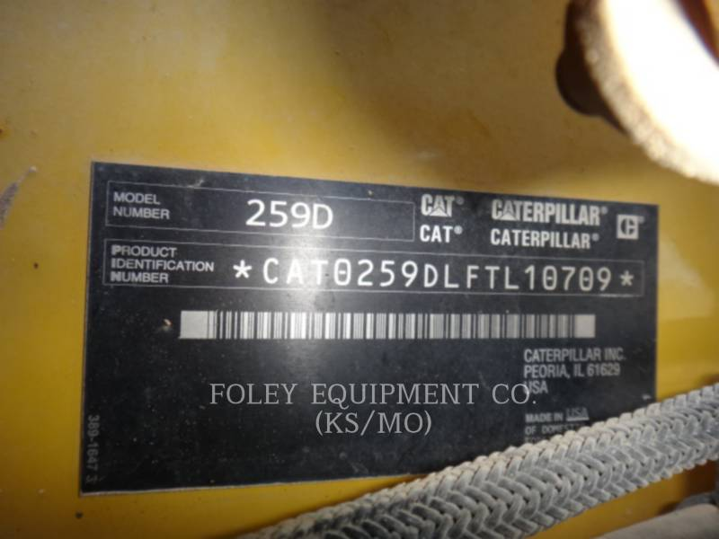 CATERPILLAR SKID STEER LOADERS 259DHF2CA equipment  photo 6