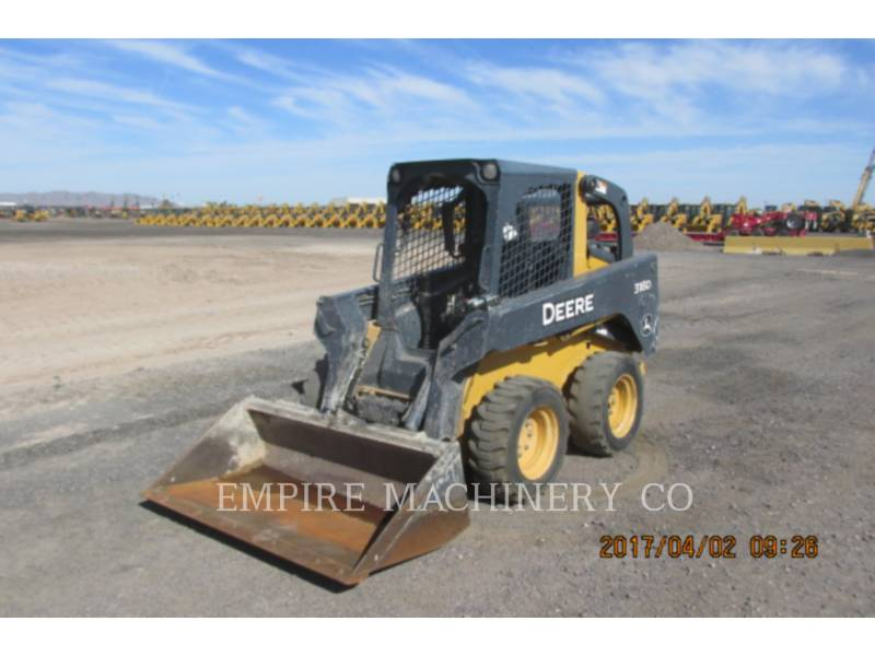 JOHN DEERE SKID STEER LOADERS 318D equipment  photo 1