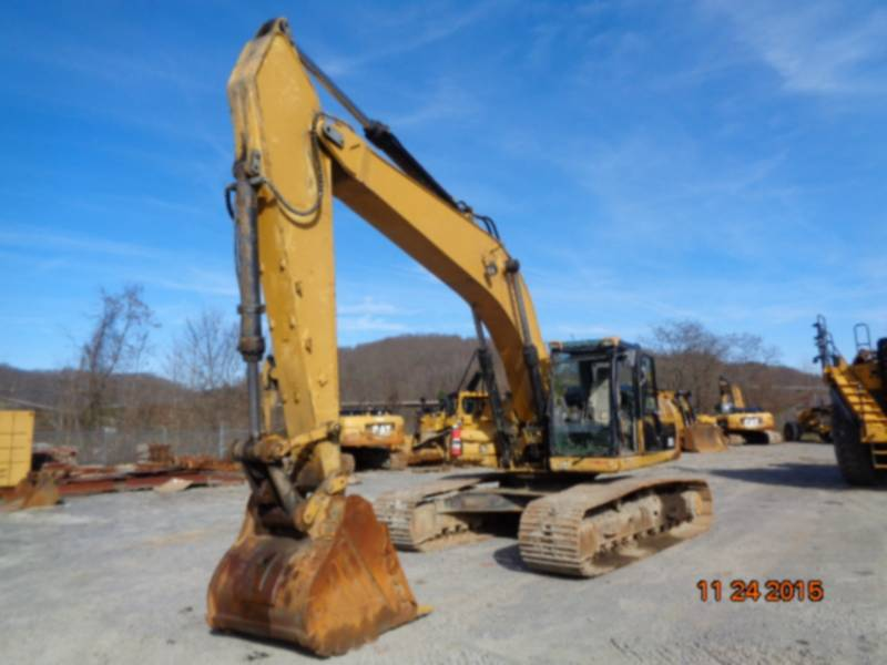 CATERPILLAR EXCAVADORAS DE CADENAS 329DL equipment  photo 1