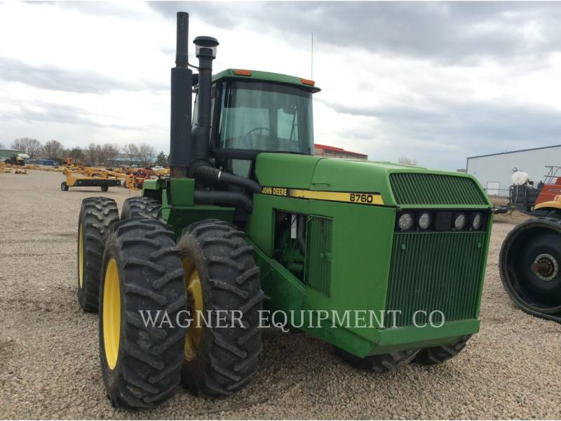 DEERE & CO. AG TRACTORS 8760 equipment  photo 4