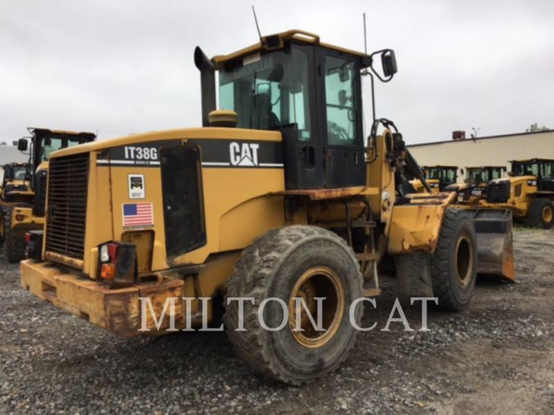 CATERPILLAR WHEEL LOADERS/INTEGRATED TOOLCARRIERS IT38 G II equipment  photo 4