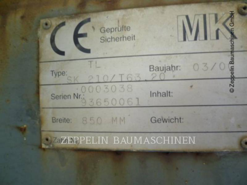 KAISER MISCELLANEOUS / OTHER EQUIPMENT TL850 MM SMP T63.2 equipment  photo 8