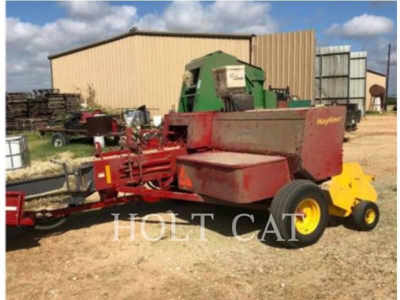 NEW HOLLAND LTD. MATERIELS AGRICOLES POUR LE FOIN BC5070 HAYLINER equipment  photo 2