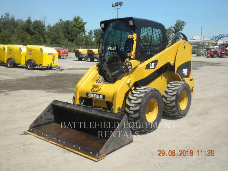 CATERPILLAR PALE COMPATTE SKID STEER 246C equipment  photo 1