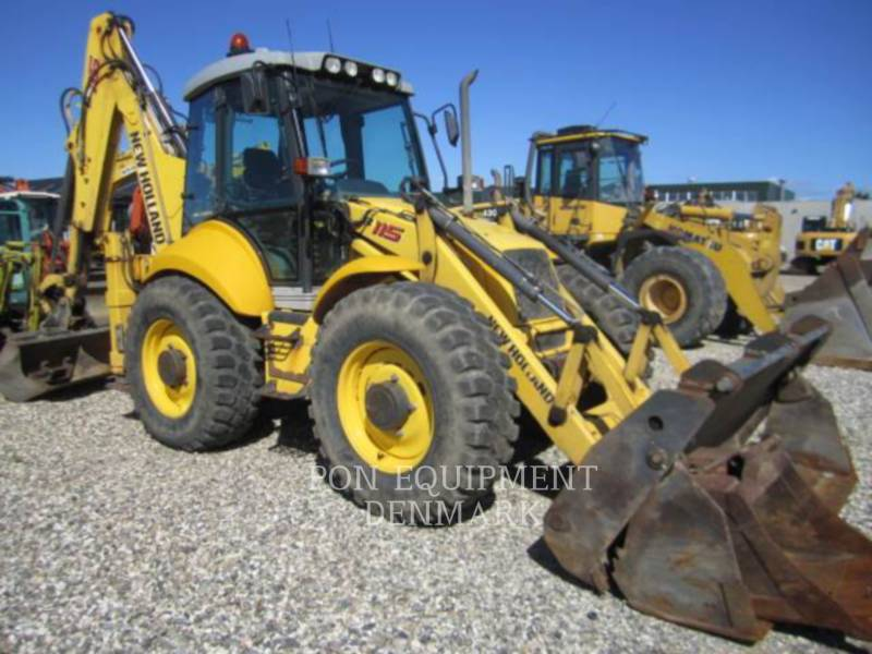 NEW HOLLAND LTD. KOPARKO-ŁADOWARKI B115 4PS equipment  photo 15