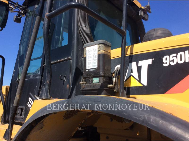 Caterpillar ÎNCĂRCĂTOARE PE ROŢI/PORTSCULE INTEGRATE 950H equipment  photo 9