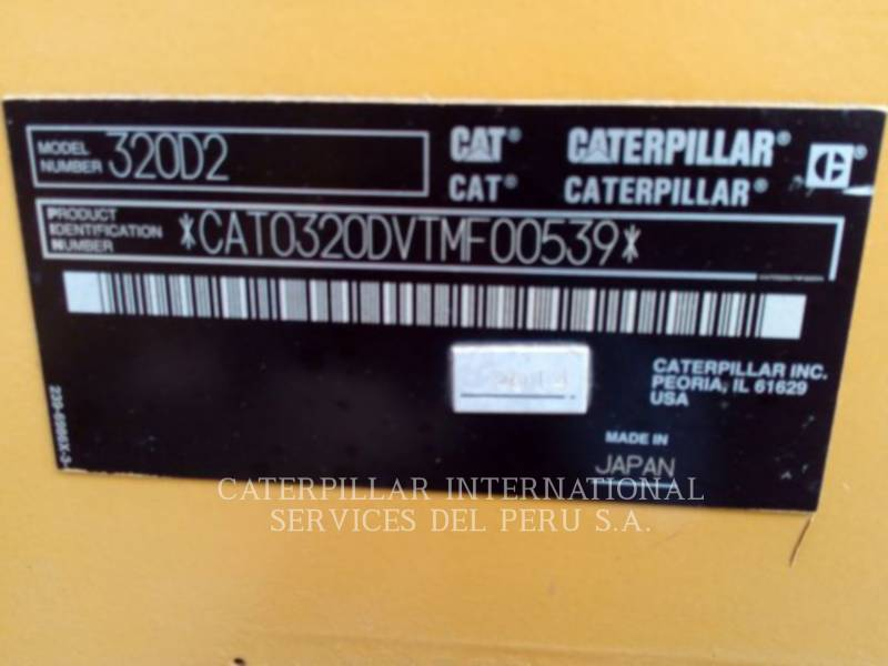 CATERPILLAR EXCAVADORAS DE CADENAS 320 D 2 REACH equipment  photo 19