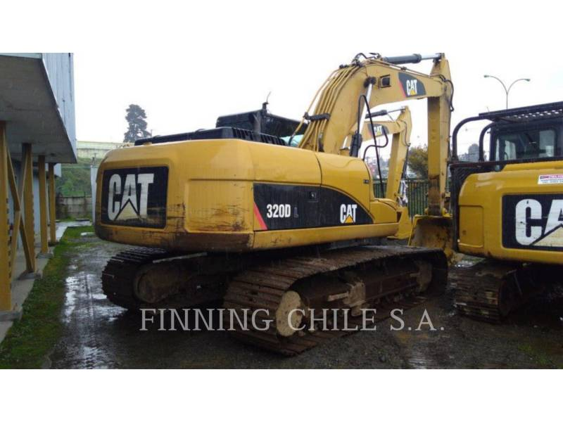CATERPILLAR PELLES SUR CHAINES 320 D L equipment  photo 3