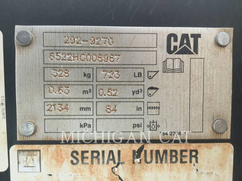 CATERPILLAR CARGADORES MULTITERRENO 299D2XHP A equipment  photo 7